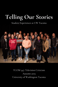Cover for Telling Our Stories