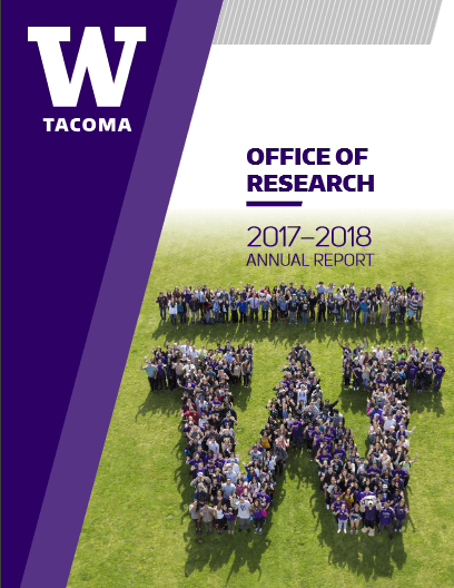 Office of Research Annual Report Cover