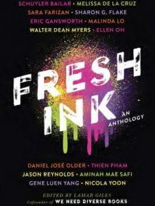 Cover of anthology Fresh Ink