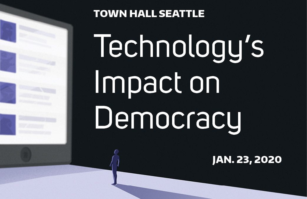 Who can we trust? Addressing Technology's Impact on Democracy.