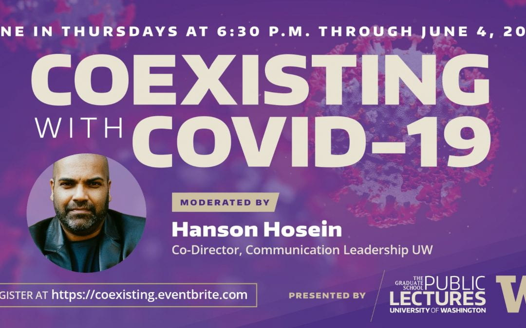 CIP's Jevin West and Kate Starbird kick off 'Coexisting With COVID-19' discussion series