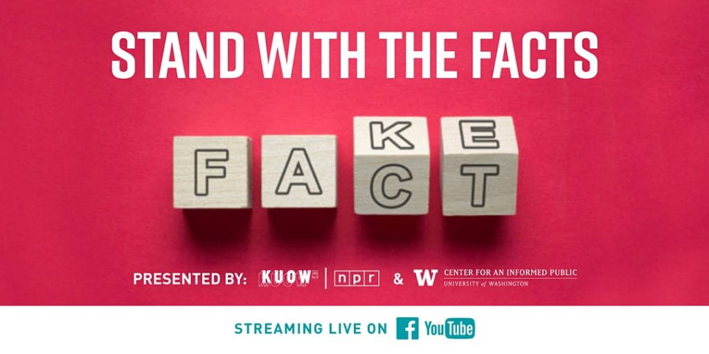 Stand With the Facts discussion series