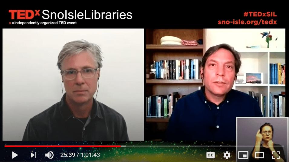 Chris Coward on Sno-Isle Libraries TEDx 2020 talk