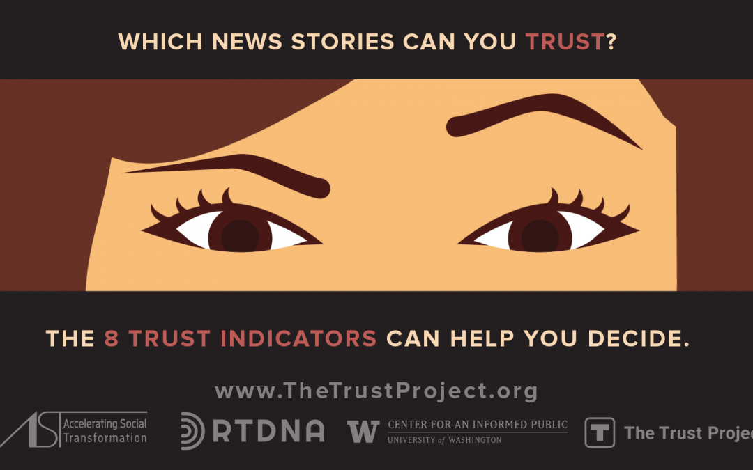 #TrustedJournalism campaign to help slow spread of disinformation on social media among older adults ahead of elections