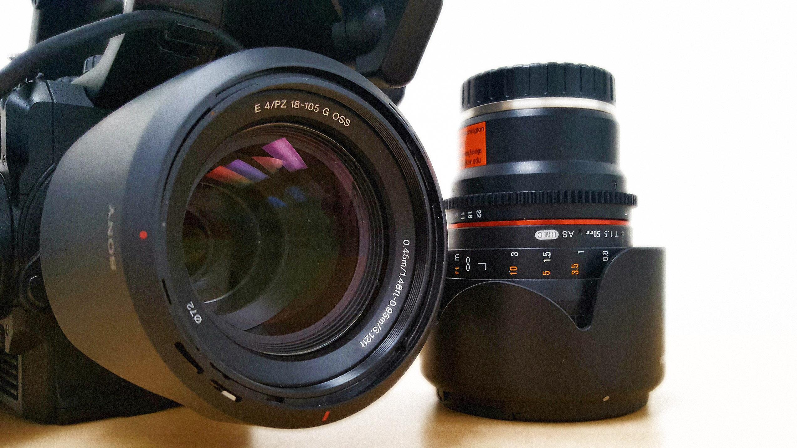 Photo of a camera