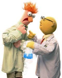 Muppets Beaker and Bunsen
