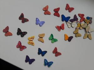 Butterflies for Butterflies and Painting Event