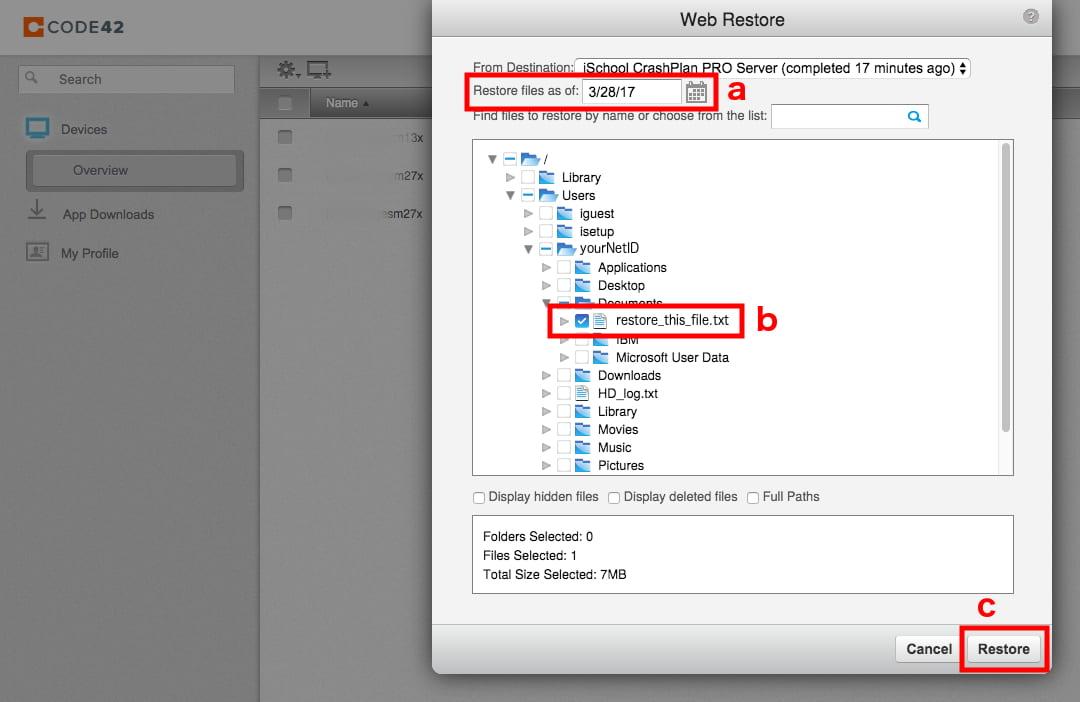 crashplan_website_find_file_to_restore