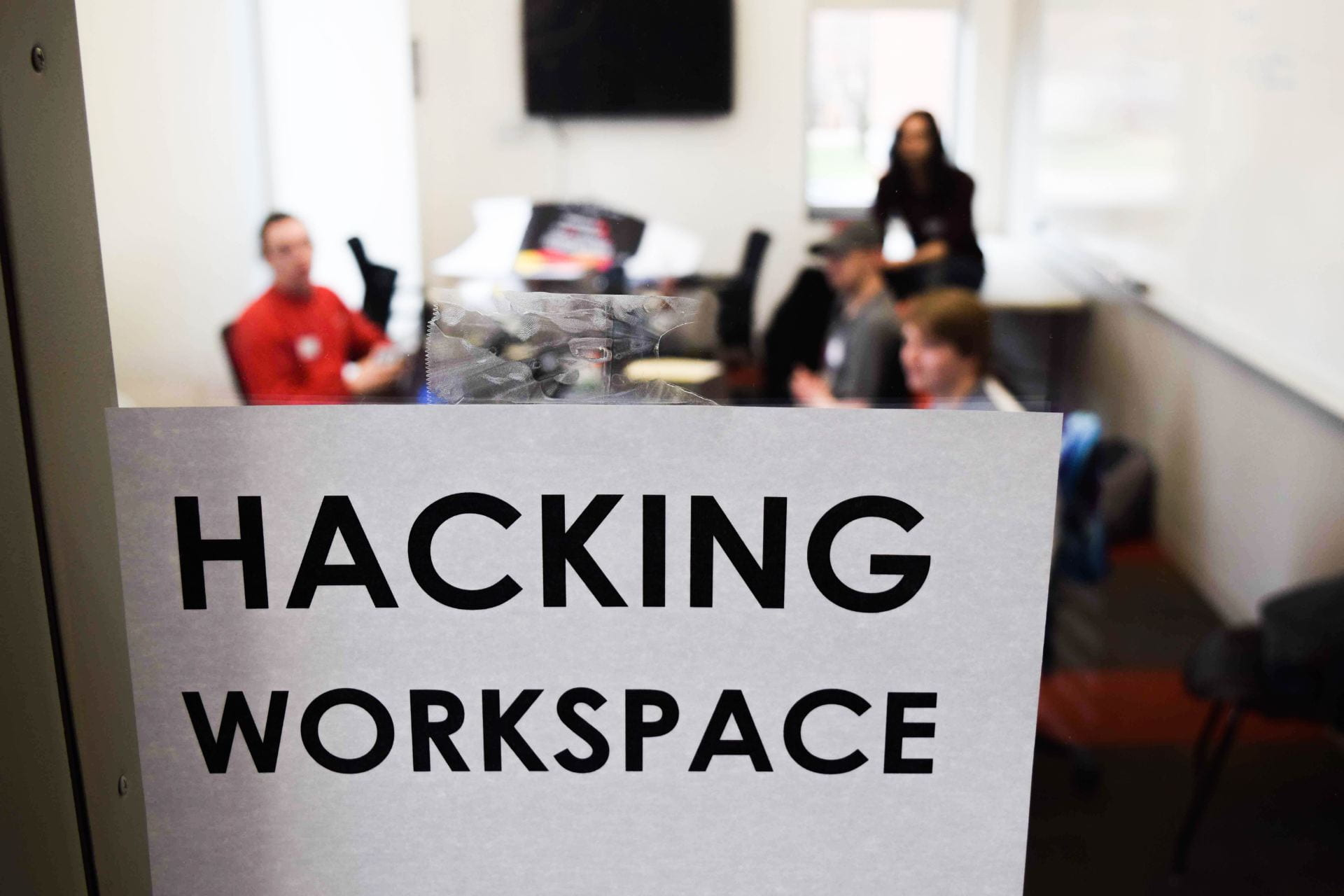 Hacking Workspace sign