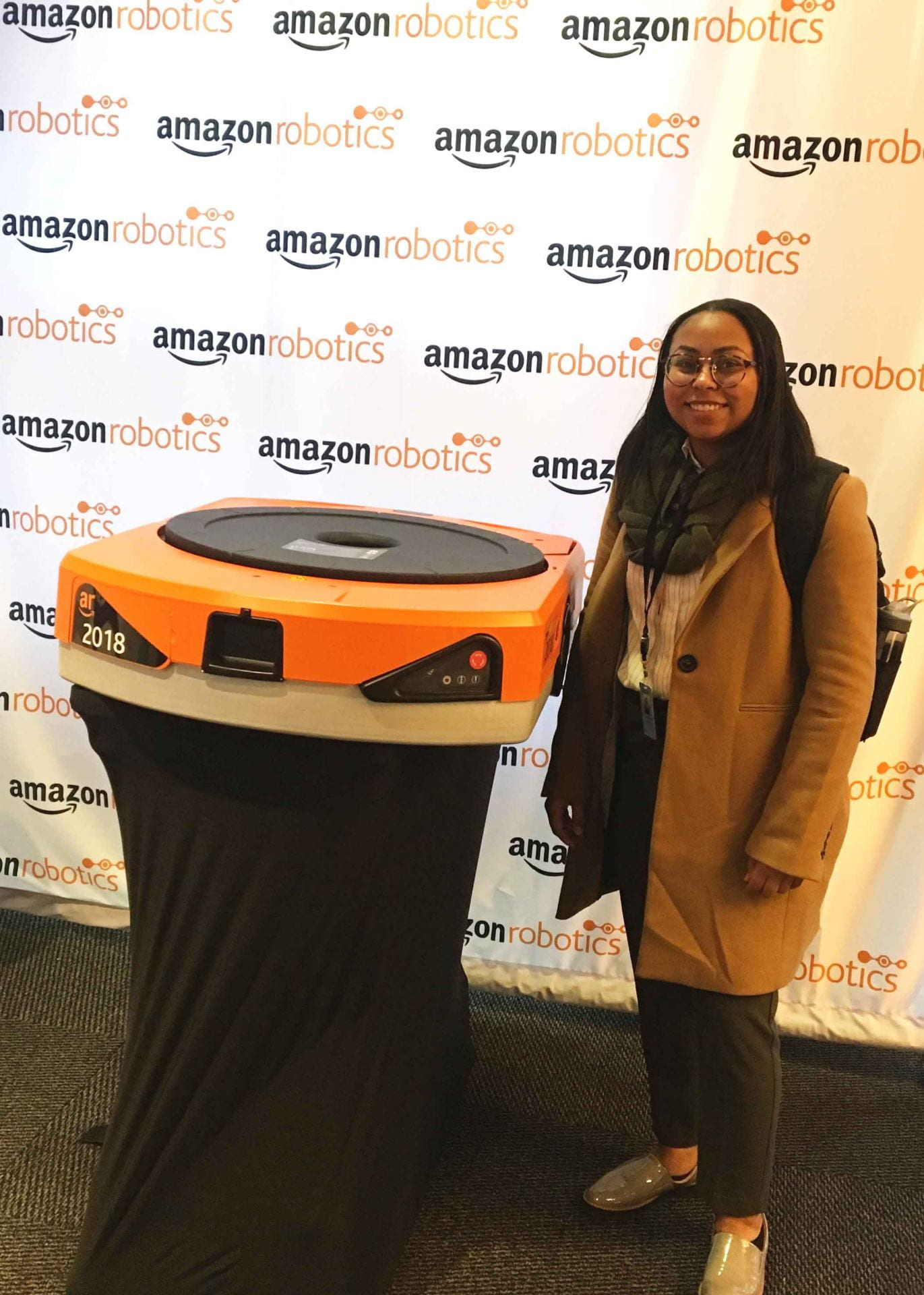 Jasmine at Amazon Robotics