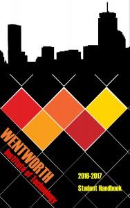2016-2017 Handbook Cover Design Winner