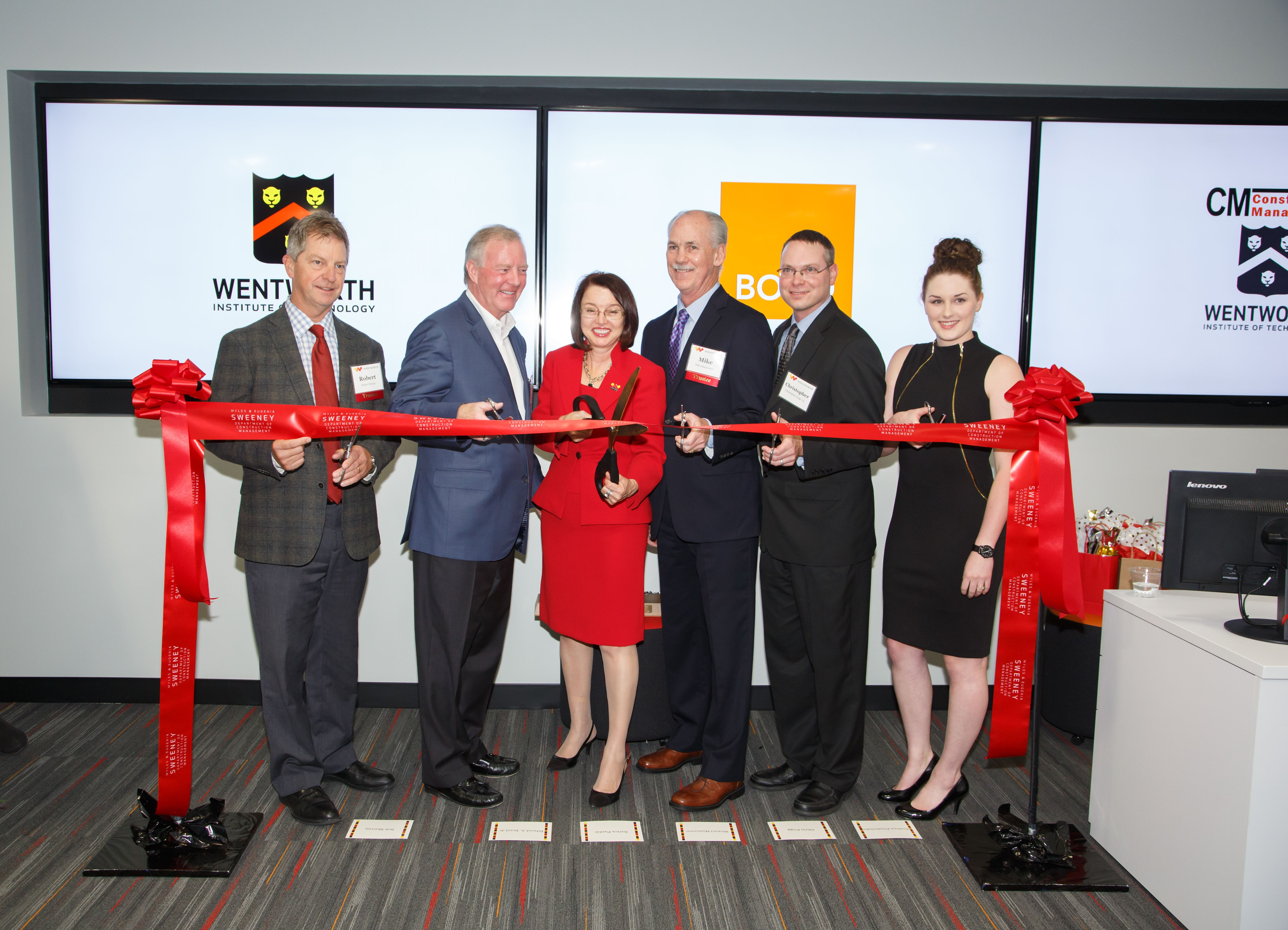 The BOND lab was dedicated on Oct. 13.