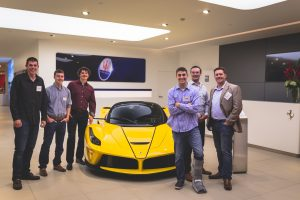 Art Zafiropoulo, EE, Hon. '17, invited alumni and friends to Ferrari Silicon Valley in Redwood City, Calif. for an evening of networking.