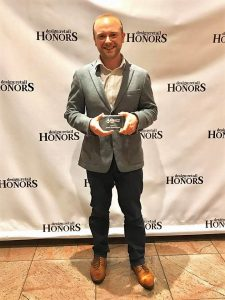 """Jason Marcoulier, BAET, was named a """"40 Under 40"""" by Design:Retail magazine for his work in the retail design field at Ahold USA."""