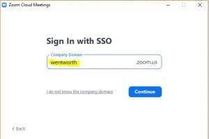 screenshot showing wentworth domain