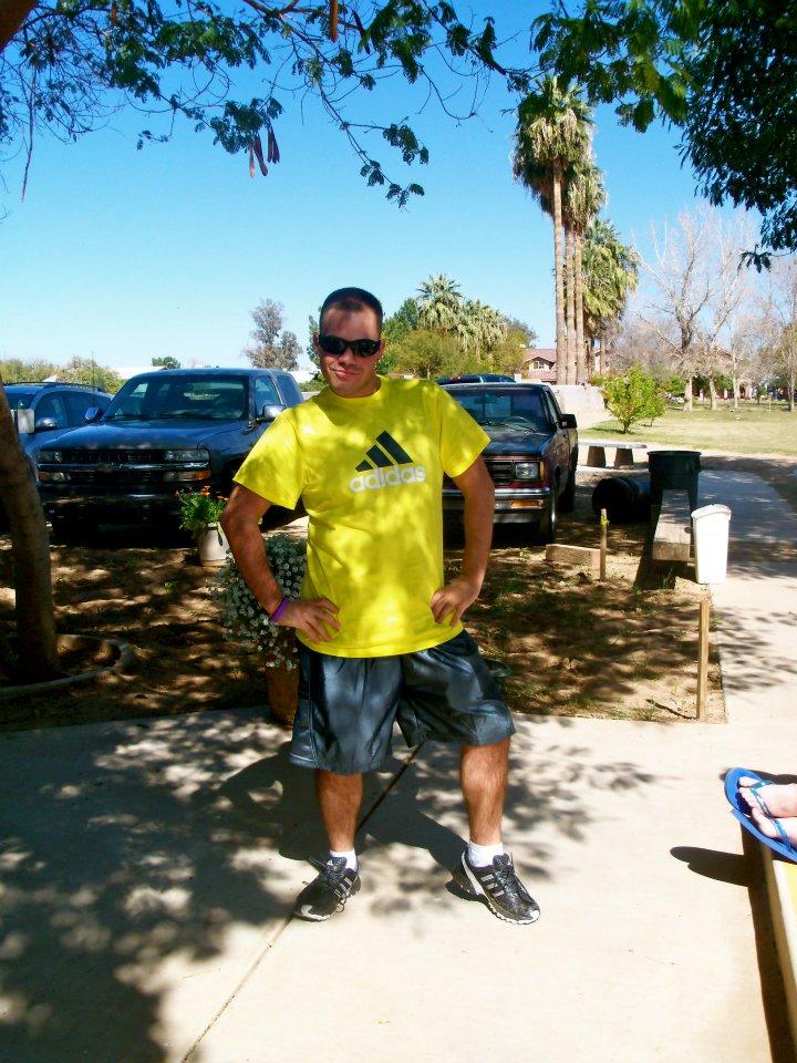 Carlo bustin' a move in Phoenix, AZ
