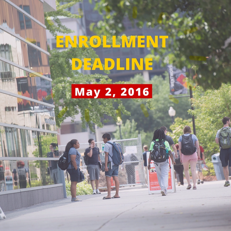 enrollment deadline for smedia