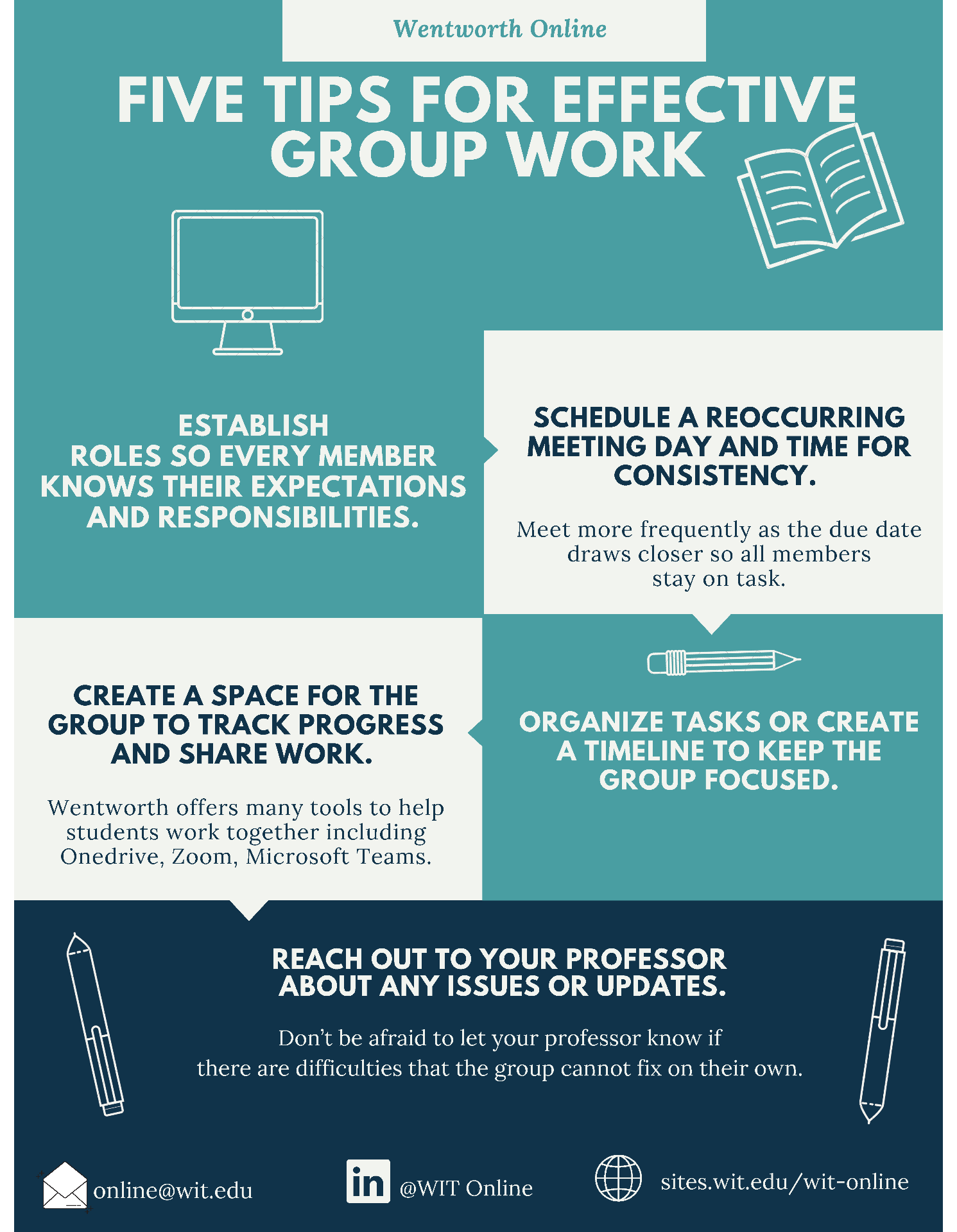 Effective Group Work Infographic