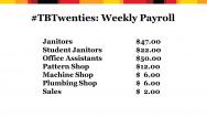 weekly payroll