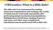 definition of a slide rule