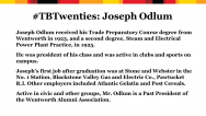 biography of Joseph Odlum