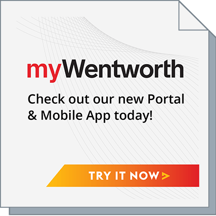 myWentworth - Check out our new Portal & Mobile App today!
