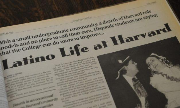 Updates: Harvard's Latin@ Community