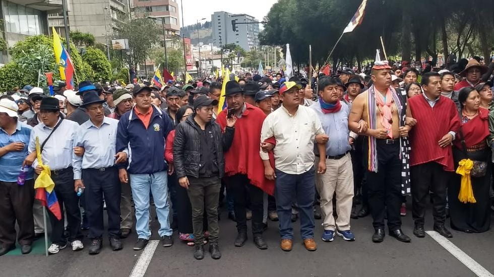 Fuel Price Protests Open Broad Rights Dialogue in Trilingual and Plurinational Ecuador