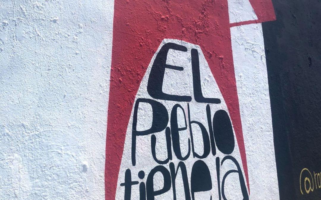 El Pueblo Tiene La Fortaleza – The People Have the Strength