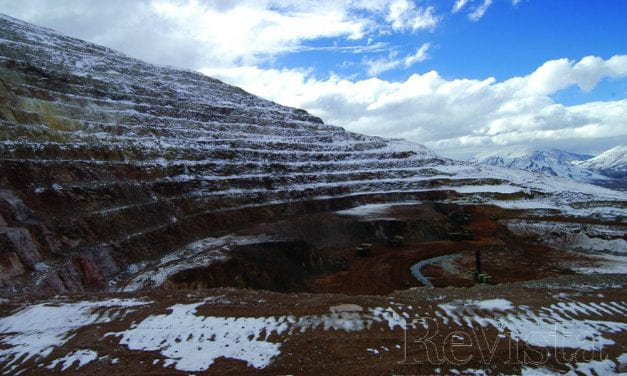 The Journalist in an Open Pit Mine