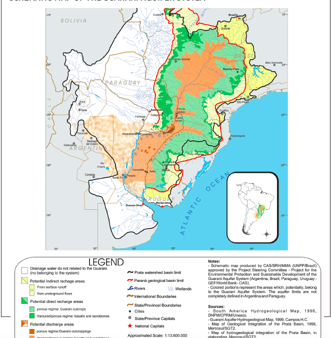 The Invention of the Guarani Aquifer System