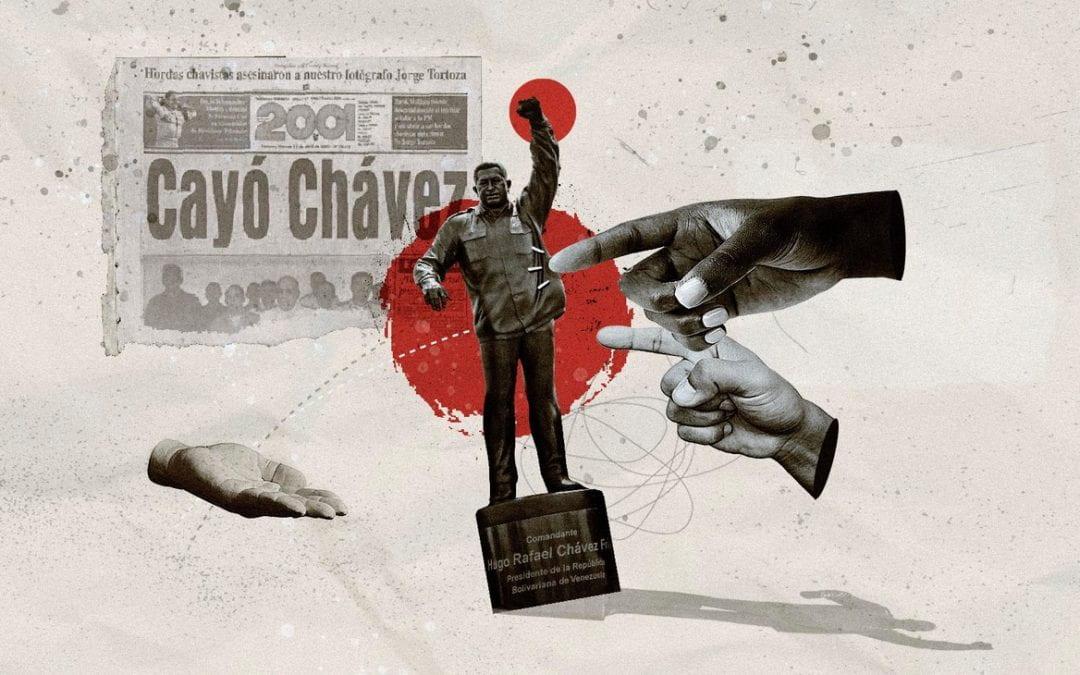 The Statues of Hugo Chávez