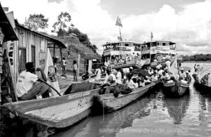 Photo of boats at a dock.