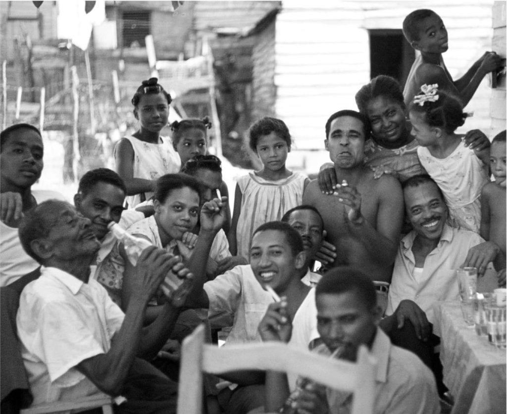 Neighbors in Capotillo, a barrio of Santo Domingo, 1968.