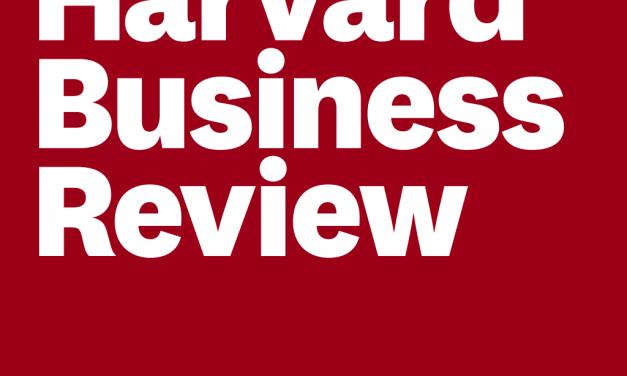 Harvard Business Review: McKinsey Award