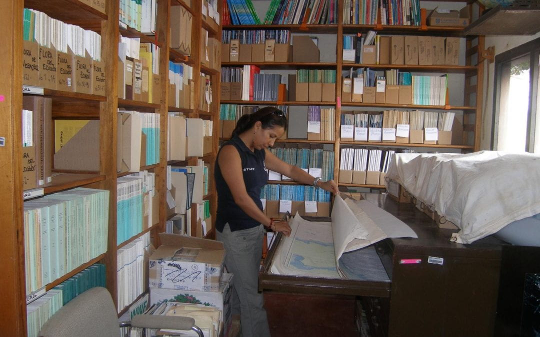 Making A Difference: Library Grant to the Galapagos