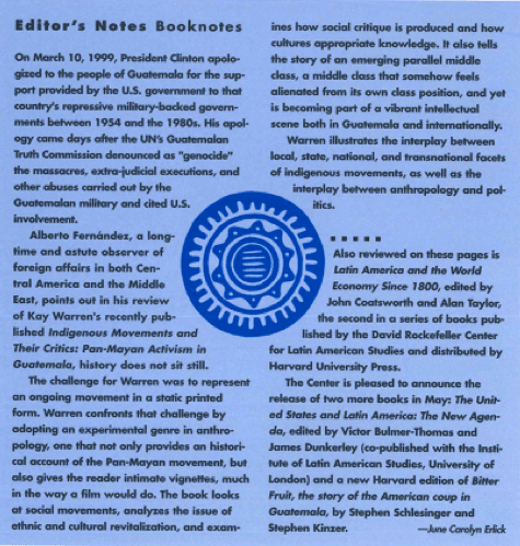 Editor's Notes: Booknotes