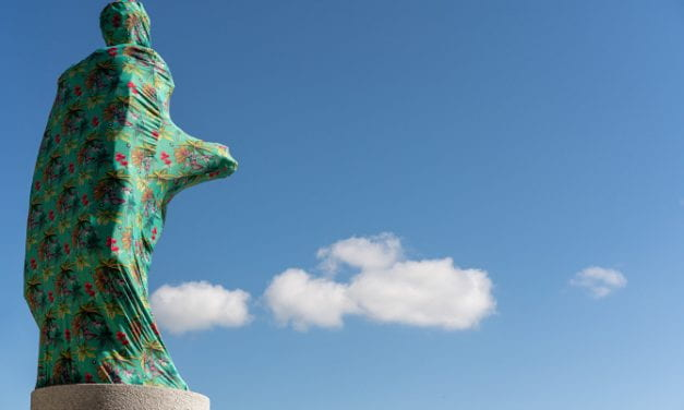 Joiri Minaya's Cloaking of the Statue of Christopher Columbus