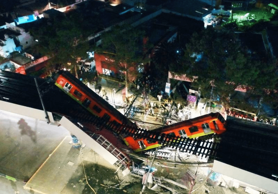 The Collapsing of Line 12 of the Mexico City Metro
