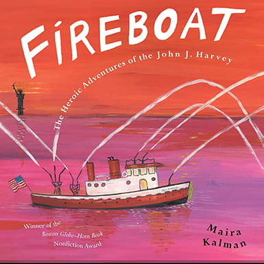 Fireboat cook cover