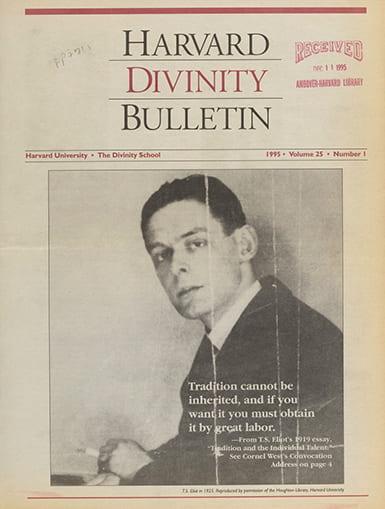 Autumn 1995 Bulletin cover
