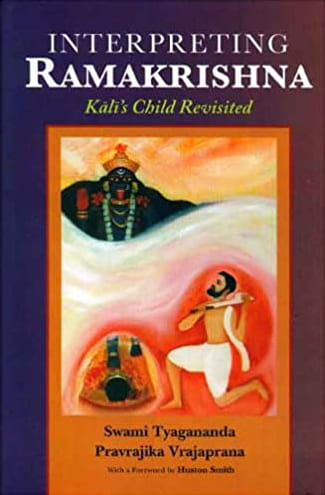 Book cover for Interpreting Ramakrishna