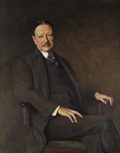 Portrait painting of George Foot Moore
