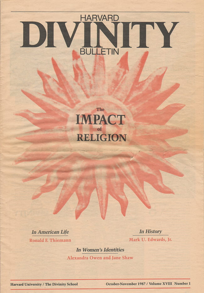 1987 Bulletin issue cover