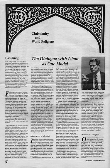 Image of 1985 Bulletin page
