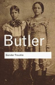 Book cover for Gender Trouble