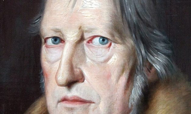 Turning Hegel on His Side