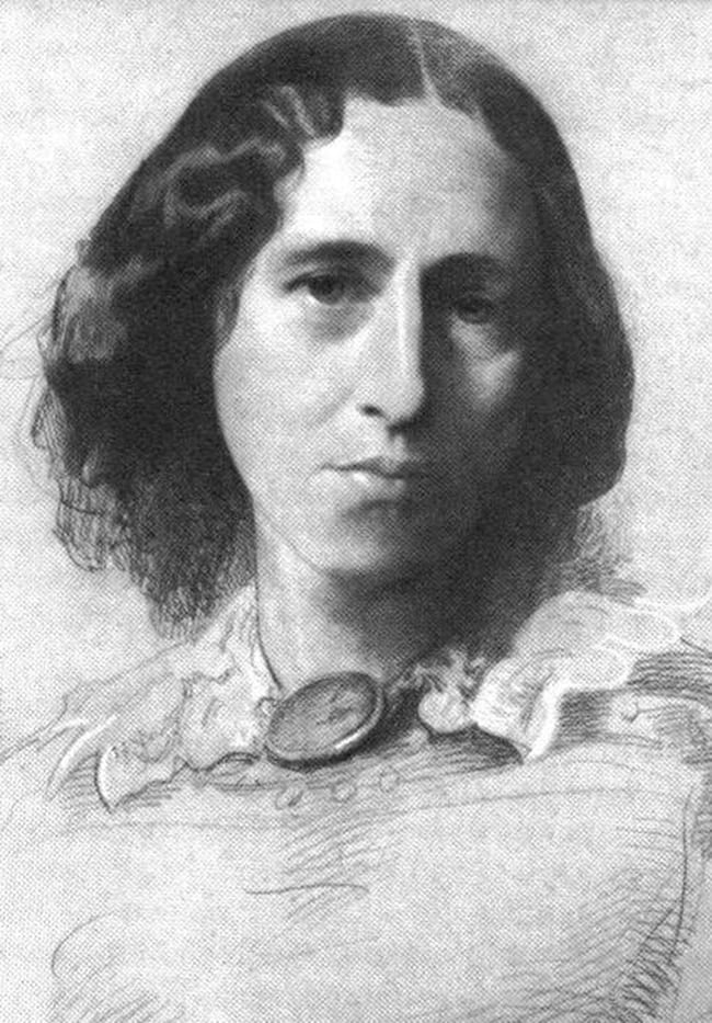 Drawing of George Eliot