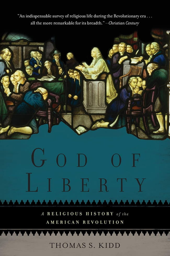 book cover for God Of Liberty