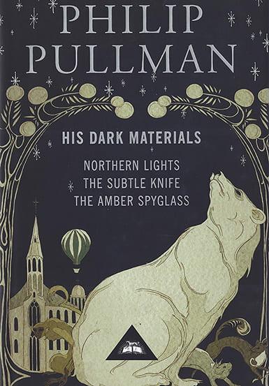 Art for a box set of His Dark Materials